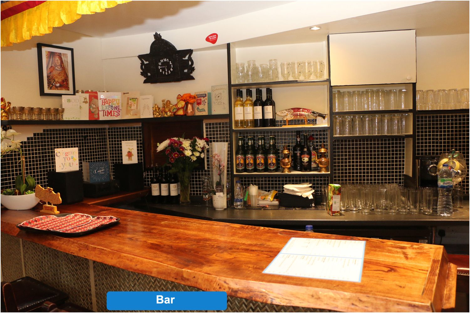 Bar Authentic Nepalese Homely Cooked Resturant By Experienced Chef